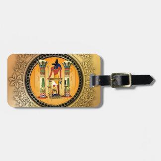 Anubis egypten bagagebricka