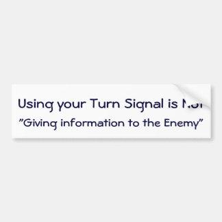 Använd din blinkerklistermärke bildekal