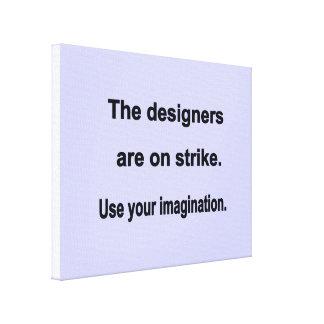 Använd din fantasidesign - blåttbakgrund canvastryck