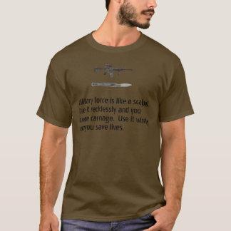 Använd krigsmakt klokt tröjor