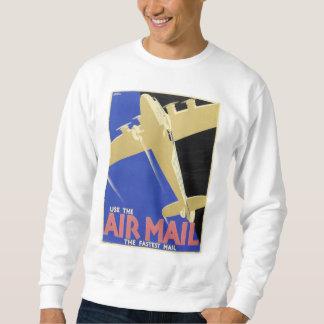 Använd luften postar, det snabbast postar lång ärmad tröja