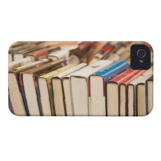 Använda bokar på en genomsökanderea Case-Mate iPhone 4 case