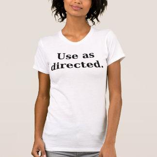 Använda som riktad t-shirts