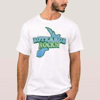 Aotearoa stenar! Nyazeeländsk karta T-shirts
