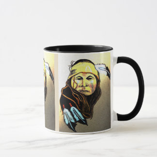 Apache krigare mugg