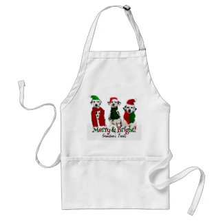 APAL - Juldalmatianen förföljer anpassningsbar Förkläde