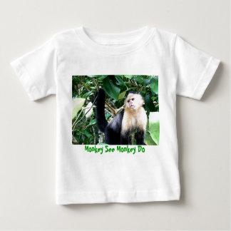 Apan ser apan göra tee shirt