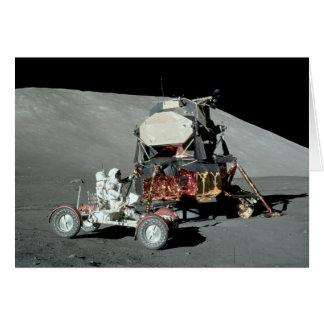 Apollo 17 - Den final bemannade månelandningen Hälsningskort