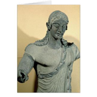 Apollo av Veii, från tempelet av Minerva Hälsningskort