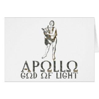 Apollo Hälsningskort