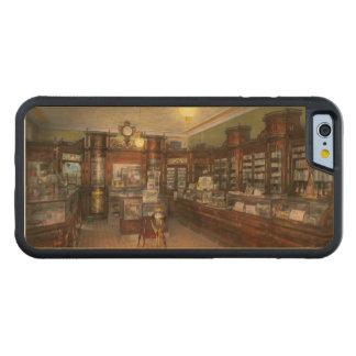Apotek - Wellers apotek 1915 Carved Lönn iPhone 6 Bumper Skal