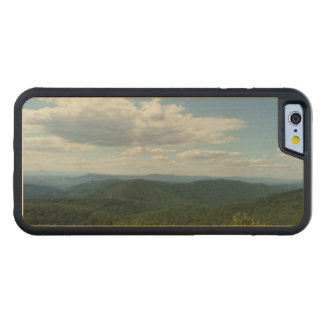 Appalachian berg mig Shenandoah Carved Lönn iPhone 6 Bumper Skal