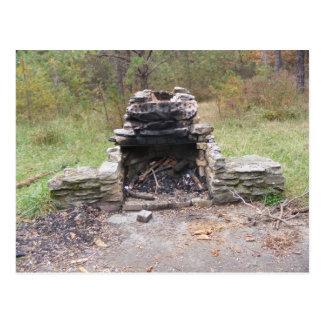 appalachian slinganedgångpennsylvania läger vykort