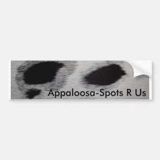 Appaloosa-Fläckar R oss Bildekal