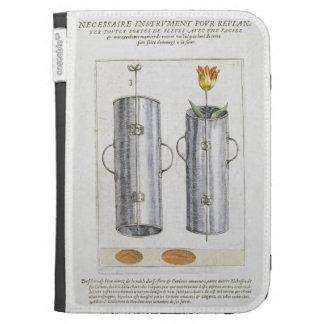 Apparat för beträffande-att plantera blommor från