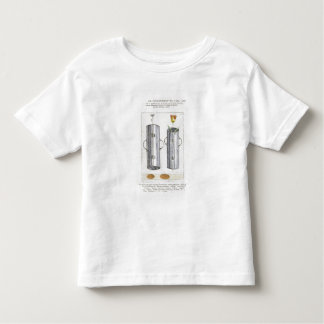 Apparat för beträffande-att plantera blommor, från t-shirt
