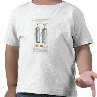Apparat för beträffande-att plantera blommor, från t shirt