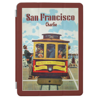 Apparaten för namn för den vintageSan Francisco iPad Air Skydd