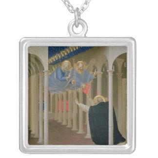 Apparition av SS. Peter och Paul till St. Silverpläterat Halsband