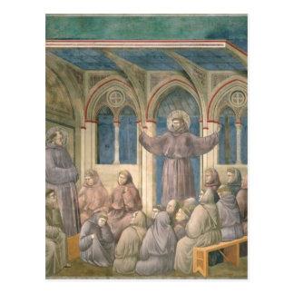 Apparitionen på kapitelhuset på Arles Vykort
