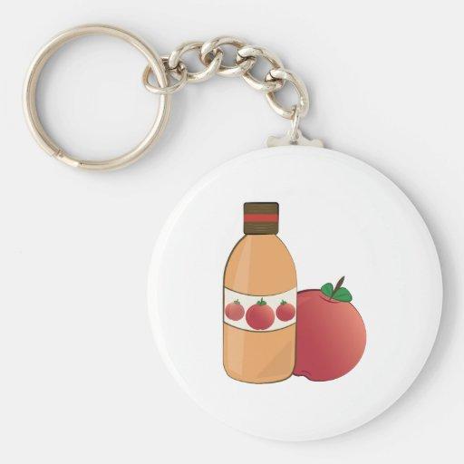 Äppelcider Nyckelring