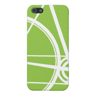 äpple för iPhone 4G - grönt cyklar täcker iPhone 5 Hud