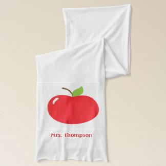 Apple för lärarescarfen halsduk