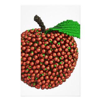 Apple gjorde av äpplen brevpapper