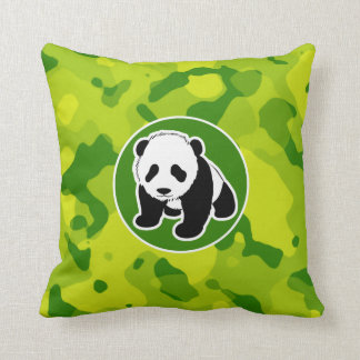 Apple - gröna Camo; Panda Kudde