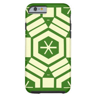 äpple iphone6-case, hård yttre snowflakedesign tough iPhone 6 skal