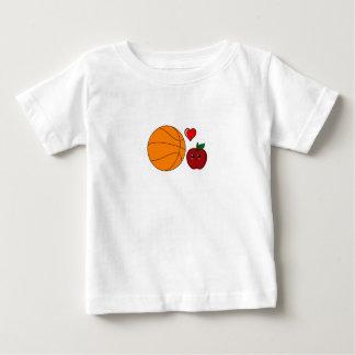 Apple kärlekbasket t shirts