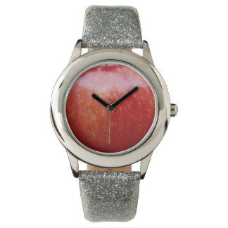 Apple silverglitter armbandsur