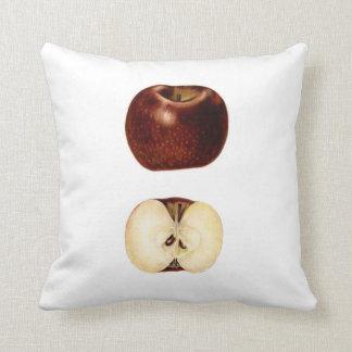 Apple skiva kuddar