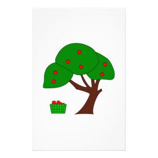 Apple träd brevpapper