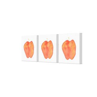 Äpplen Canvastryck