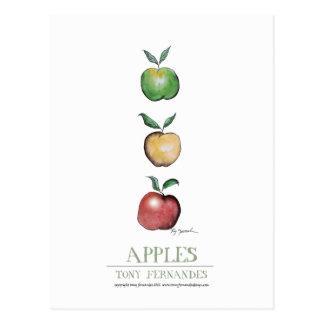 Äpplen tony fernandes vykort