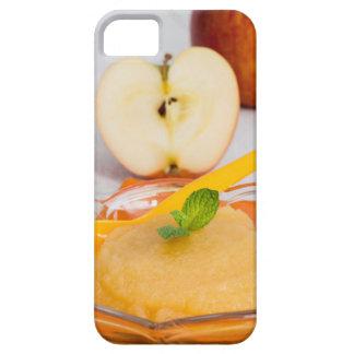 Applesauce med kanel och den orange skeden barely there iPhone 5 fodral