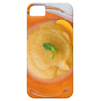 Applesauce med kanel och den orange skeden iPhone 5 Case-Mate skydd