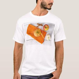 Applesauce med kanel och den orange skeden t-shirts