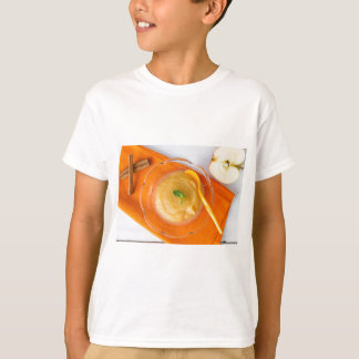 Applesauce med kanel och den orange skeden tee shirt