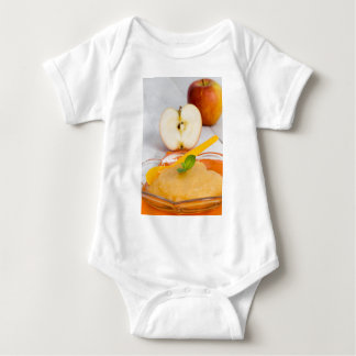 Applesauce med kanel och den orange skeden tee shirt