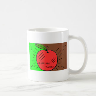 Applicera en dag kaffemugg