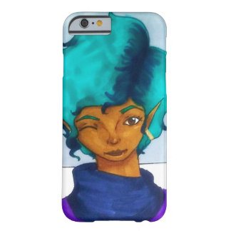 Aqua Barely There iPhone 6 Skal