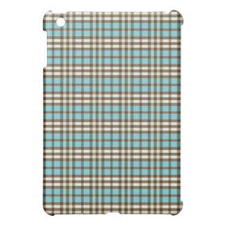 Aqua-/chokladpläd Pern iPad Mini Skal