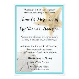 Aqua för inbjudan för bröllop för dollar för
