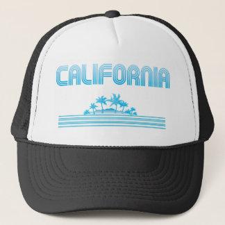 AQUA för Kalifornien neonpalmträd Truckerkeps