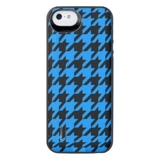Aqua Houndstooth 2 iPhone SE/5/5s Batteri Skal