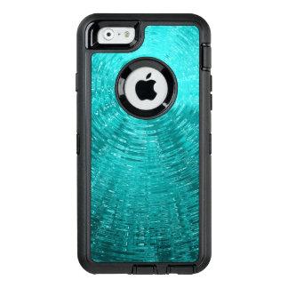 Aqua skvalpar OtterBox defender iPhone skal