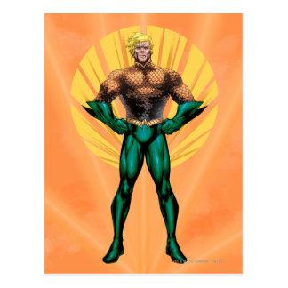 Aquaman anseende vykort