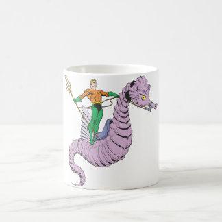 Aquaman rider seahorsen kaffemugg